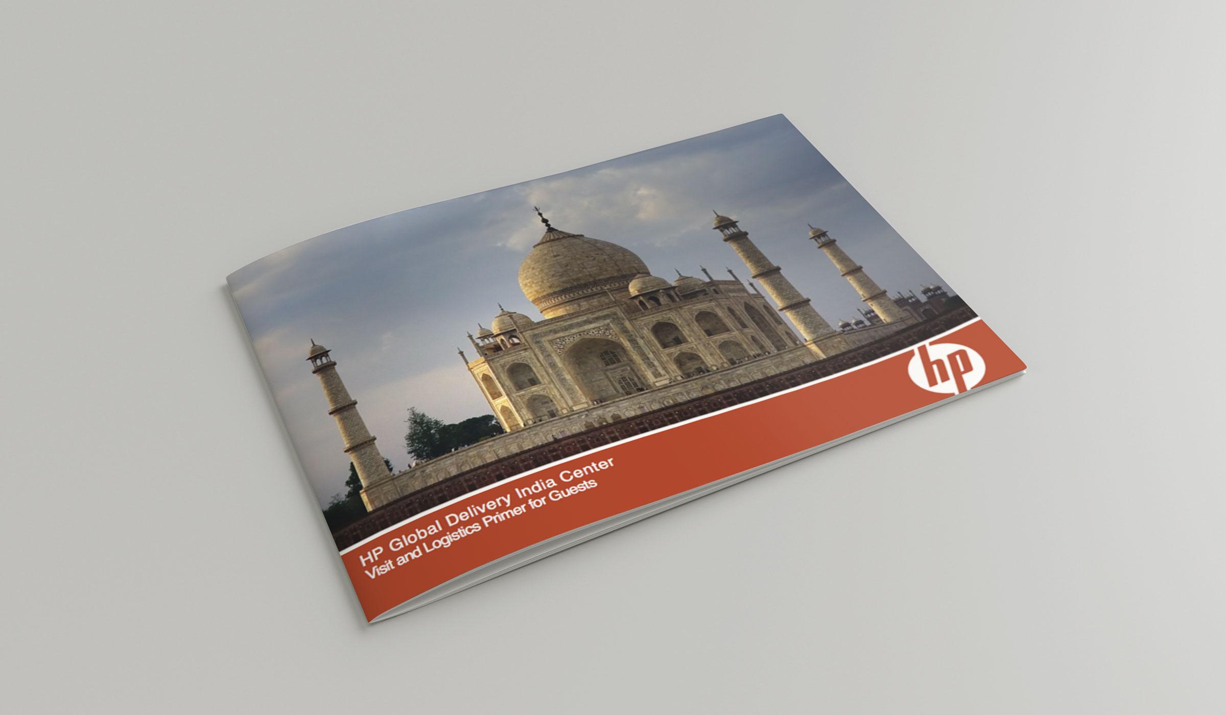 HP India Visit Guide Design