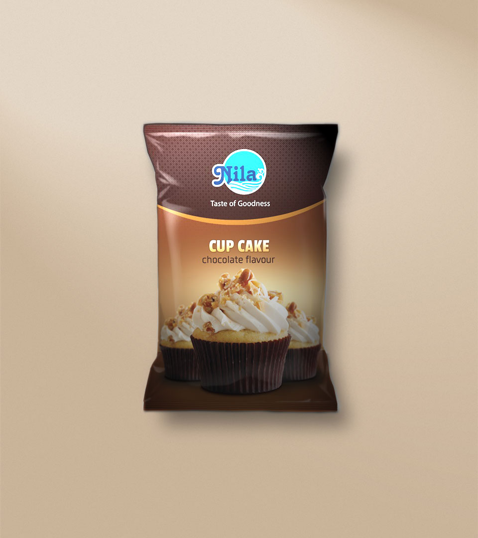 Package of Nila Bakes Chocolate Flavour Cup Cake